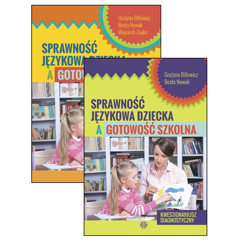 Sprawność językowa dziecka a gotowość szkolna (komplet)