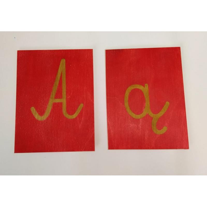 Szorstki Polski - pomoc do nauki alfabetu i pisania