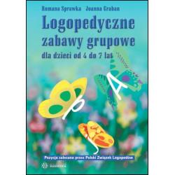 Logopedyczne zabawy grupowe dla dzieci od 4 do 7 lat