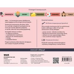 Multimedialny program terapeutyczny do nauki mowy MÓWMI. Zestaw 1