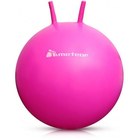 Terapeutyczna piłka skacząca 55 cm różowa