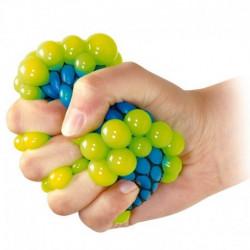 Gniotek w siatce (winogrono). Piłeczka antystresowa