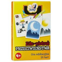 Edu-Piotruś Przeciwieństwa. Gra edukacyjna (karty)