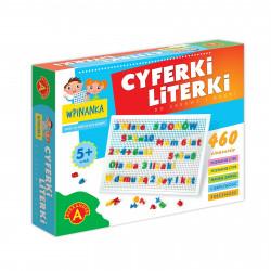 Wpinanka - Cyferki i Literki. Gra zręcznościowa