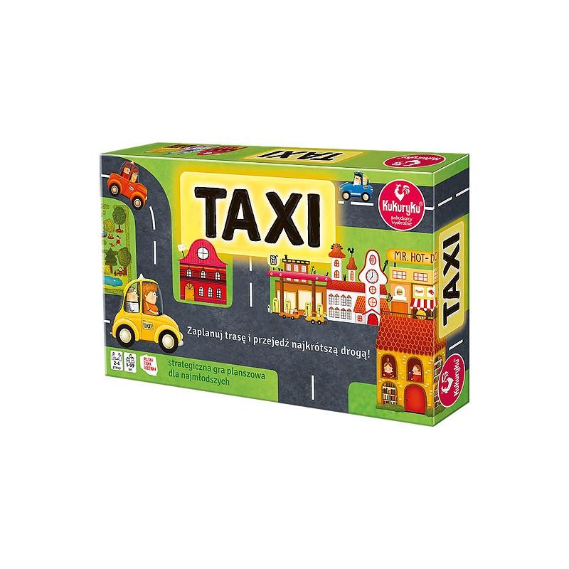 Taxi. Strategiczna gra planszowa dla najmłodszych