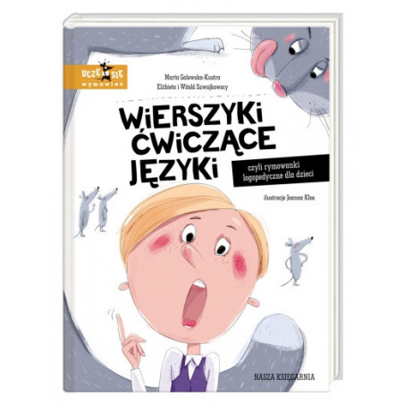Wierszyki ćwiczące języki, czyli rymowanki logopedyczne dla dzieci