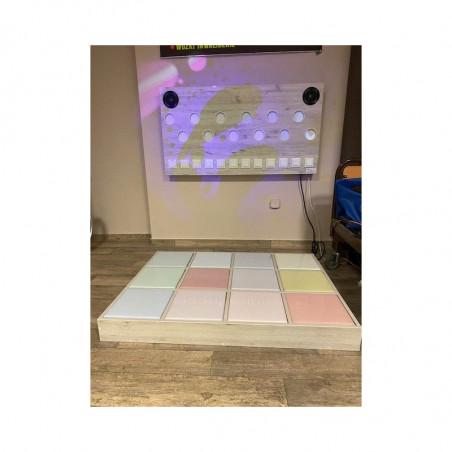 Tor świetlno - dźwiękowy (12 kolorowych pól)