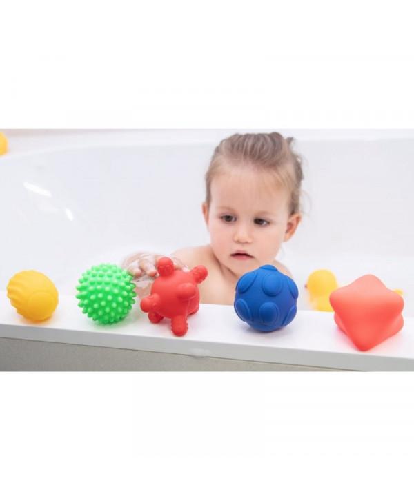 Piłki, piłeczki pomoce sensoryczne 5 szt.