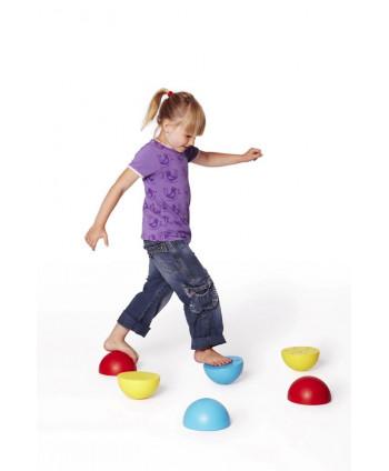 Ścieżka sensoryczna - półkule równoważne 6 sztuk