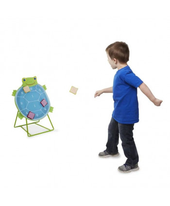 Gra zręcznościowa. Rzut do tarczy z żółwiem