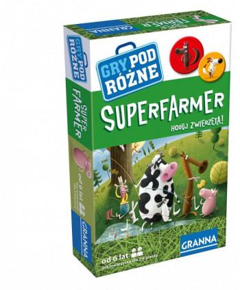 Super Farmer. Rodzinna gra planszowa
