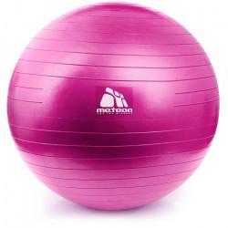 Piłka terapeutyczna 55 cm z pompką różowa