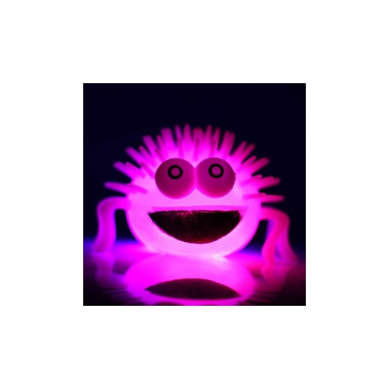 Gniotek - świecący pająk. Pomoc terapuetyczna
