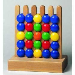 Grzebień drewniany mały (bez rolek). Kreatywna układanka